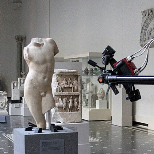 3D Scanning of a Roman male torso