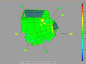 3D Inspection and Analysis, CAD Scan Data