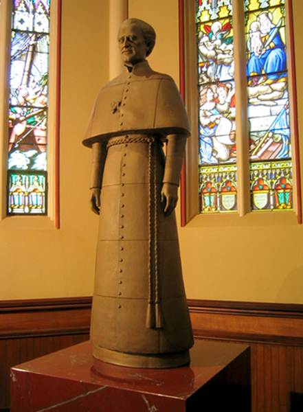 News Item: Bronze Sculpture for Basilica at Notre Dame University