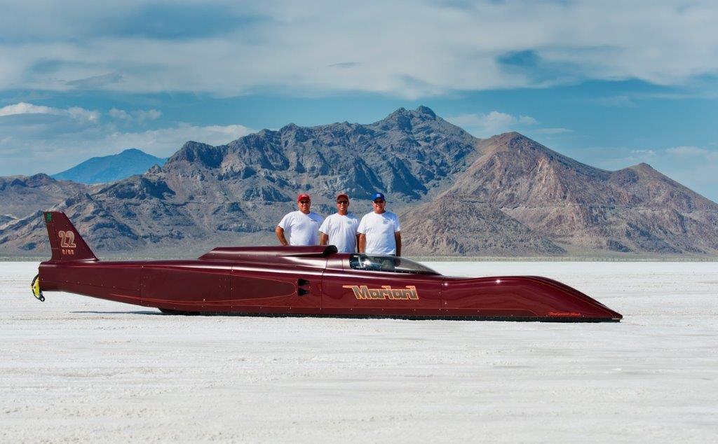 Salt flat racer for 3D scanning project