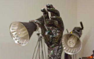 3D Scanning of Sculpture 'Rodin's Hands'