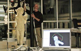 """3D scanning Michelangelo's """"Cupid"""" (""""Eros"""")"""