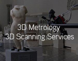 3D Scanning of Torso Sculpture of Boy