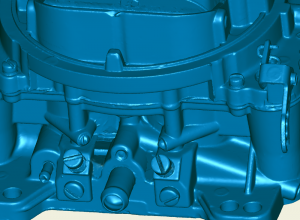 3d scan data of carburetor
