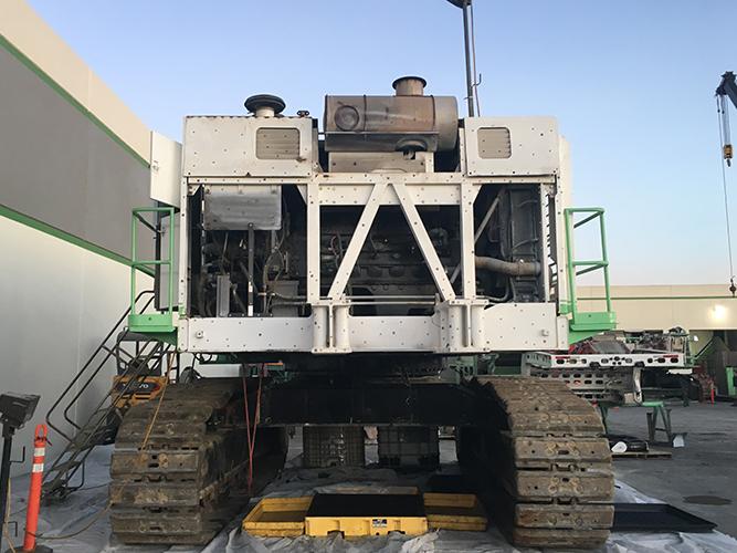 3D Inspection - Hitachi EX1200 Excavator