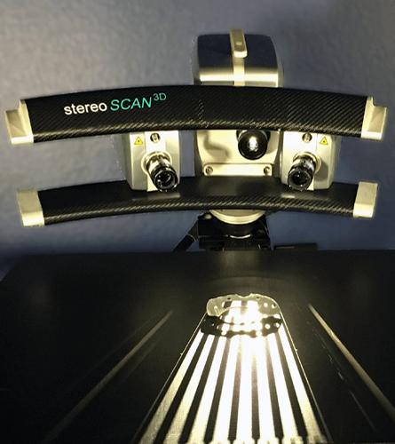 Small object 3D scanning using Breuckmann StereoScan structured light scanner