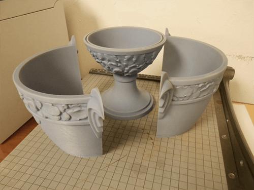 Concours d'Elegance Trophy - 3D prints