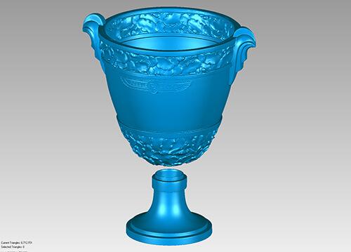 Concours d'Elegance Trophy - 3D scan data