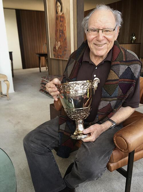 Concours d'Elegance Trophy - former show chairman, Jules Heumann