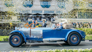 Best in Show winner at the 2017 Concours d'Elegance