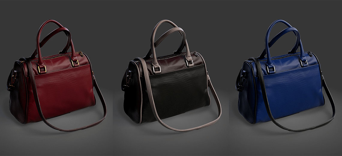 Images of Laura-Vindi-handbags created using 3Daas technolgy