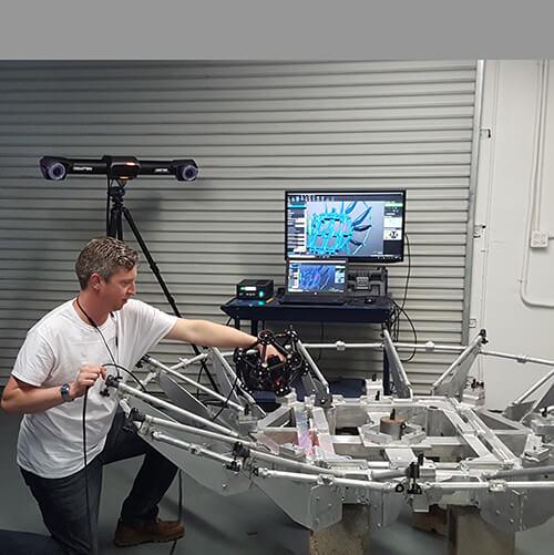 3D scanning with Breuckmann StereoScan 3D scanner