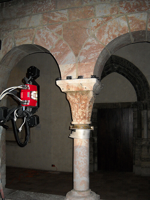 3D scanning the medieval cloister of Saint-Michel-de-Cuxa