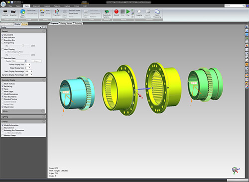 Assembly of finished CAD models. These files can be imported into any CAD software,